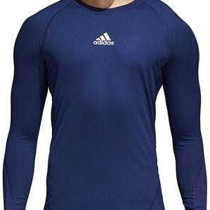 Adidas Alphaskin Soccer/Sport Long Sleeve Tee- Med